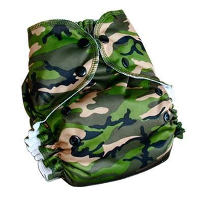 One Size Duo Pocket Diaper *seconds* Combat