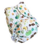 One Size Duo Pocket Diaper *seconds* Nutty by Nature