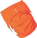 Medium Stay dry All in One Diaper *seconds* Tangerine