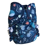 One Size Duo Pocket Diaper *seconds* Deep Sea