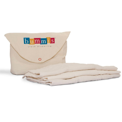 Bummis Preemie Size Prefolds 6 Pack