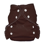 One Size Duo Pocket Diaper *seconds* Chocolate