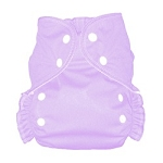 One Size Duo Pocket Diaper *seconds* Lavender