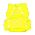 One Size Duo Pocket Diaper *seconds* Lemon