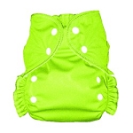 One Size Duo Pocket Diaper *seconds* Lime