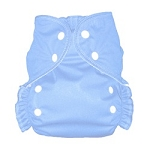 One Size Duo Pocket Diaper *seconds* Light Blue