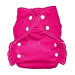 One Size Duo Pocket Diaper *seconds* Magenta