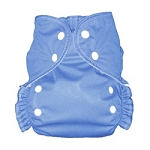 One Size Duo Pocket Diaper *seconds* Medium Blue