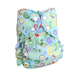 One Size Duo Pocket Diaper *seconds* Melody