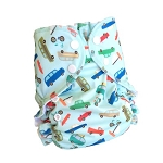 One Size Duo Pocket Diaper *seconds* Sunday Cruise
