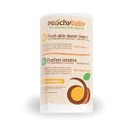 Peachy Baby Flush-able liners