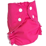 Large Duo Pocket Diaper *seconds* Magenta