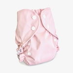 One Size Duo Pocket Diaper *seconds* Blush Pink (very limited edition colour)