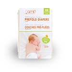 AMP Newborn Organic Cotton Prefolds - 6 Pack