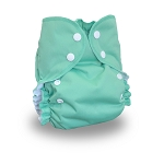 One Size Duo Diaper Tahiti Green