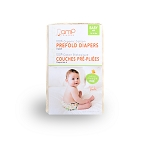 AMP Baby Organic Cotton Prefolds - 6 Pack