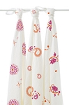 Pyara swaddle Bamboo muslin collection 3 pack
