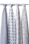 Prince Charming swaddle classic muslin collection 4 pack