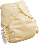 One Size Duo Pocket Diaper *seconds* Banana Cream Pie
