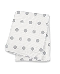 Grey Dots Lulujo Swaddle