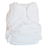One Size Duo Diaper White