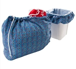 Bummis Large Blue Fabulous Wet Bag