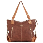 Kate 7-Piece Bag Set - Copper/Saddle