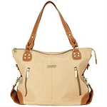 Kate 7-Piece Bag Set - Sand/Saddle