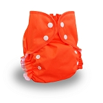 One Size Duo Diaper Tangerine