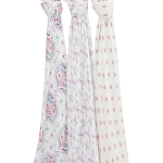 Flower Child swaddle Bamboo muslin collection 3 pack