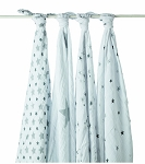 Twinkle swaddle classic muslin collection 4 pack
