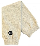 Heather Oatmeal Legwarmers