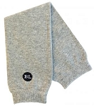 Heather Light Grey Legwarmers