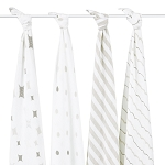 Shine On swaddle classic muslin collection 4 pack