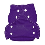 One Size Duo Diaper Grape