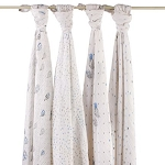 night sky swaddle classic muslin collection 4 pack