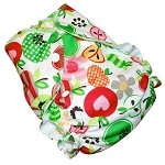 One Size Duo Pocket Diaper *seconds* Sweet Apples