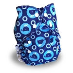 One Size Duo Pocket Diaper *seconds* Whales