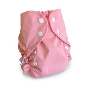 One Size Duo Pocket Diaper *seconds* Flamingo