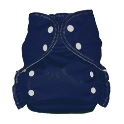 One Size Duo Pocket Diaper *seconds* Navy