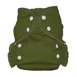 One Size Duo Diaper Olive
